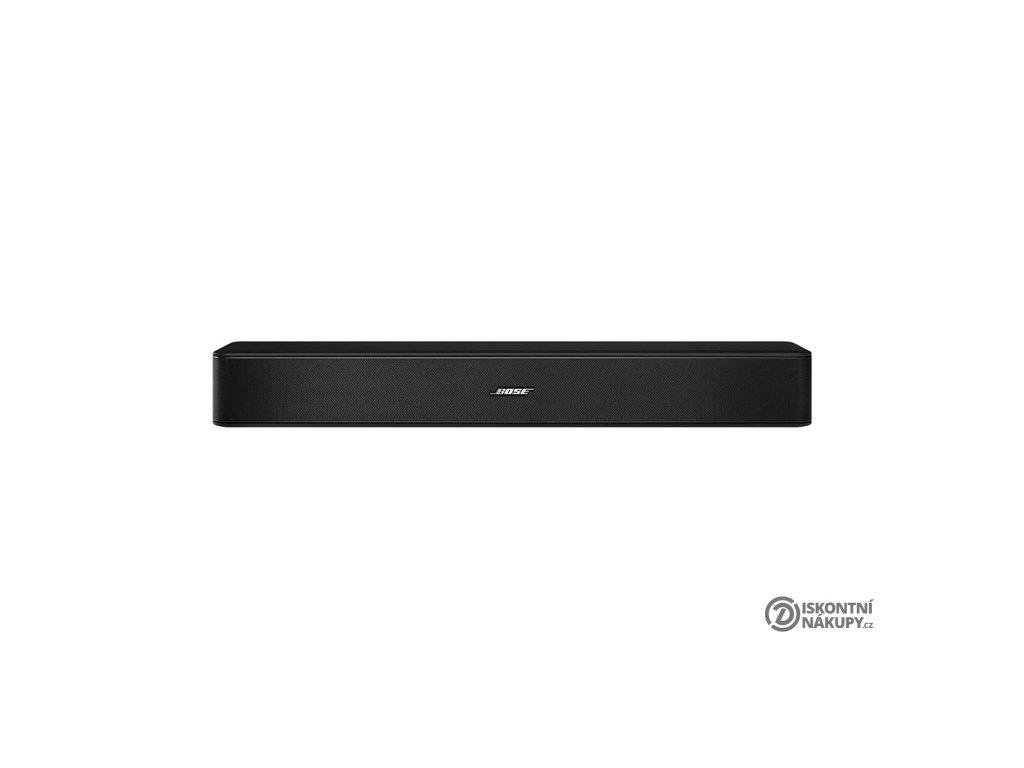 Soundbar Bose Solo 5 černý  VRACENO VE 14TI- CHYBI DALKOVE OVLADANI