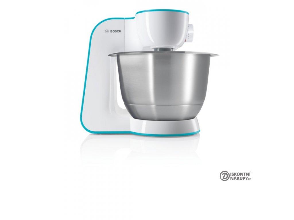Kuchyňský robot Bosch StartLine MUM54D00 bílý/tyrkysový  Nepoužito - Rozbaleno - Poškozená krabice