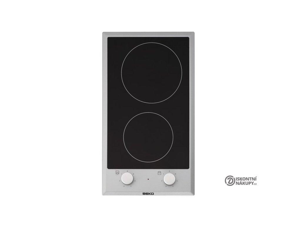 Sklokeramická varná deska Beko HDCC 32200 X černá