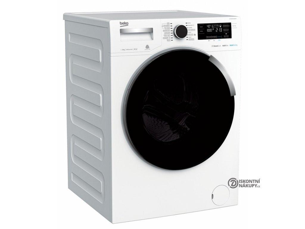 Automatická pračka Beko WTV 8744 CSXWADST bílá  nepoužito-rozbaleno