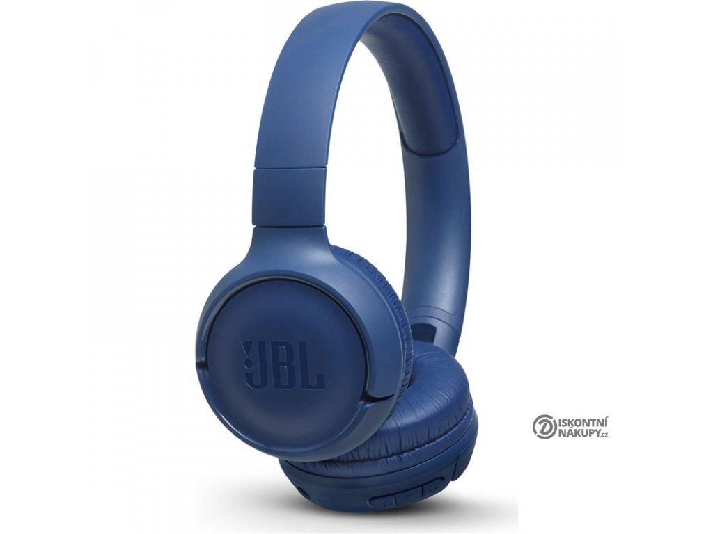 Sluchátka JBL Tune 500BT modrá  Vráceno ve 14ti denní lhůtě