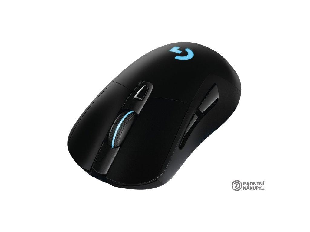 Myš Logitech Gaming G703 Lightspeed Wireless černá (/ optická / 6 tlačítek / 12000dpi)  Vráceno ve 14ti denní lhůtě