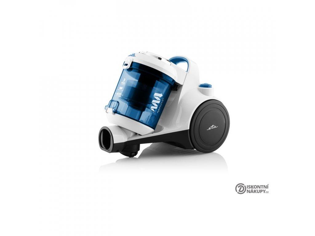 Vysavač podlahový ETA Ambito 0516 90000 bílý/tyrkysový  Nepoužito - Poškozena krabice - Vystaveno