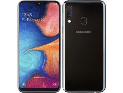 Mobilní telefon Samsung Galaxy A20e Dual SIM černý  samsma202fzkdxez