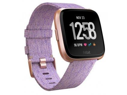 Chytré hodinky Fitbit Versa (NFC) - Lavender Woven  FTTFB505RGLVEU