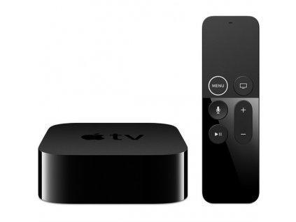 Multimediální centrum Apple TV 4K 64GB černý  Poškozený obal - vystaveno