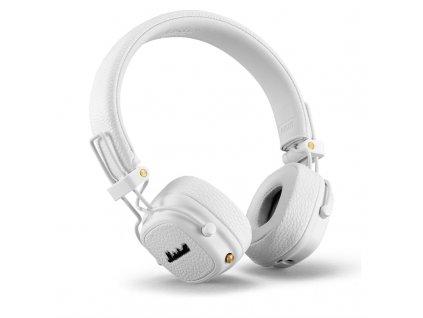 Sluchátka Marshall Major III Bluetooth bílá  Poškozený obal - Vystaveno