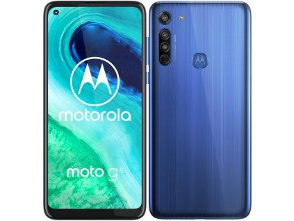 Mobilní telefon Motorola Moto G8 modrý  Vráceno ve 14ti denní lhůtě