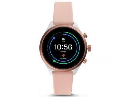 Chytré hodinky Fossil Sport 41mm - Blush Silicone  FSLFTW6022