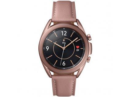 Chytré hodinky Samsung Galaxy Watch3 41mm bronzové  Vráceno ve 14ti denní lhůtě