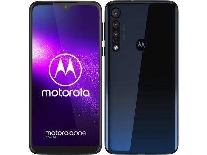 Mobilní telefon Motorola One Macro modrý  lnvpags0000pl