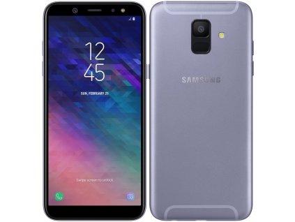 Mobilní telefon Samsung Galaxy A6 fialový  samsma600fzvnxez