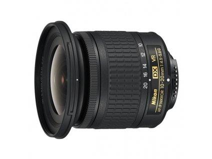 Objektiv Nikon NIKKOR 10-20 mm f/4.5-5.6G VR AF-P DX černý  nik1020afpdx