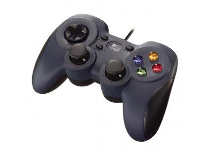 Gamepad Logitech F310 pro PC černý  ROZBALENO - ODZKOUSENO