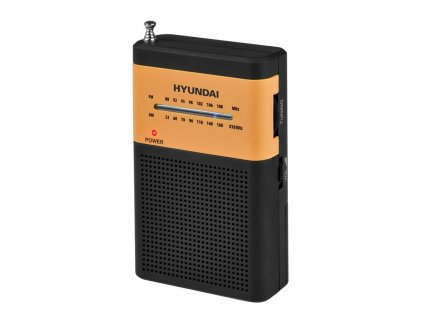 Radiopřijímač Hyundai PPR 310 BO černý/oranžový  hyuppr310bo