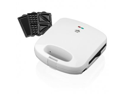 Sendvičovač ETA Tampo 4156 90000, 3 v 1 bílý  Nepoužito - Vystaveno - Poškozená krabice