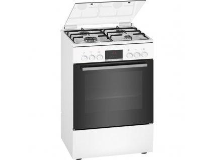 Kombinovaný sporák Bosch Serie | 4 HXN390D20 bílý  nepoužito-rozbaleno