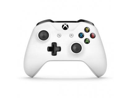 Gamepad Microsoft Xbox One Wireless - bílý  xbxtf500004