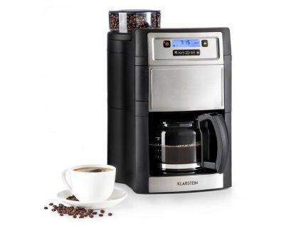 Kávovar Klarstein Aromatica II stříbrný  kla10032872