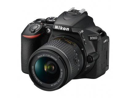 Digitální fotoaparát Nikon D5600 + 18-55 AF-P VR černý (VBA500K001)  nikd56001855afp