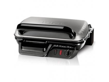 Gril Tefal Ultra Compact 600 Classic GC305012 černý/chrom  Nepoužito - Vystaveno - Poškozená krabice