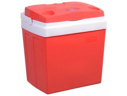 Chladicí box Compass 30 l RED 220 / 12 V displej s teplotou  Nepoužito - Vystaveno - Chybí originální krabice