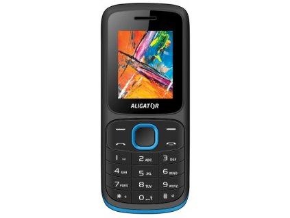 Mobilní telefon Aligator D210 černo-modrý