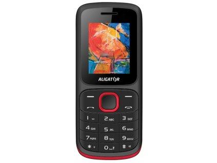 Mobilní telefon Aligator D210 černo-červený