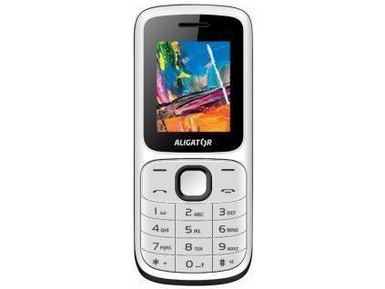 Mobilní telefon Aligator D210 bílo-černý