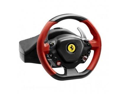 Volant Thrustmaster Ferrari 458 Spider pro Xbox One, One X, One S, Series + pedály černý  Vráceno ve 14ti denní lhůtě - oděrka