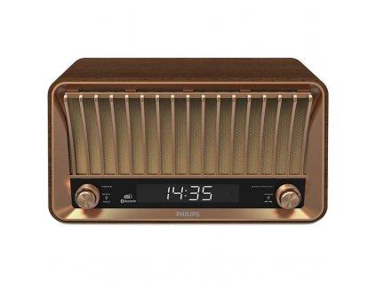 Radiopřijímač s DAB+ Philips TAVS700 hnědý  Vráceno ve 14ti denní lhůtě - kosmetické oděrky
