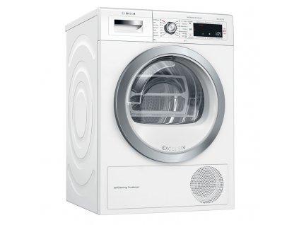 Sušička prádla Bosch Serie | 8 WTW85590BY bílá  nepoužito-rozbaleno-pravá strana malá deformace plechu