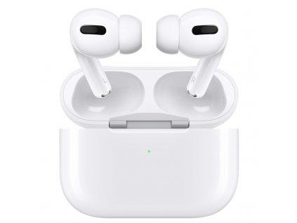 Sluchátka Apple AirPods Pro bílá  Vráceno ve 14ti denní lhůtě - kosmetické oděrky na pouzdře