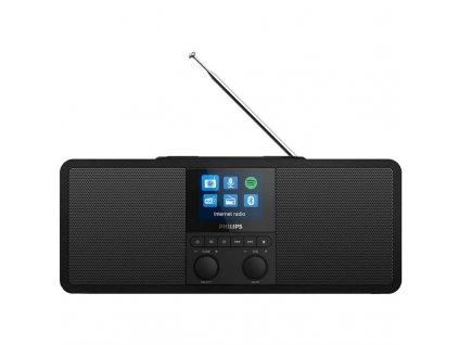 Internetový radiopřijímač Philips TAR8805 černý  Vráceno ve 14ti denní lhůtě - kosmetické oděrky