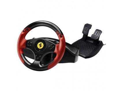 Volant Thrustmaster Ferrari Red Legend pro PC, PS3 + pedály černý černý  Vráceno ve 14ti denní lhůtě - Poškozená krabice