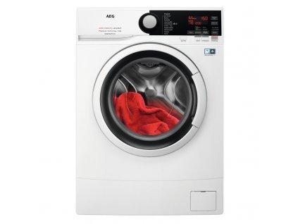 Pračka AEG ProSense™ L6SE26IWC bílá  nepoužito-rozbaleno-pravá strana malá promáčklina