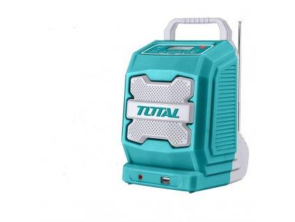 Stavební rádio Total tools TJRLI2001  Vráceno ve 14ti denní lhůtě