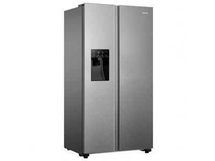 Americká lednice Hisense RS694N4TIE nerez  nepoužito-rozbaleno