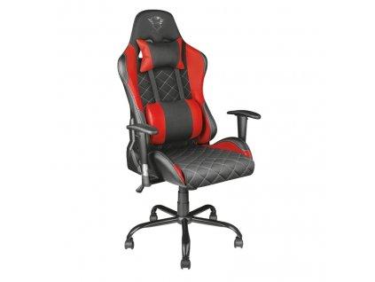 Herní židle Trust GXT 707R Resto červená  Poškozený obal - vystaveno