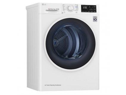 Sušička prádla LG RC80EU2AV4D bílá  nepoužito-rozbaleno-pravá strana malá deformace plechu