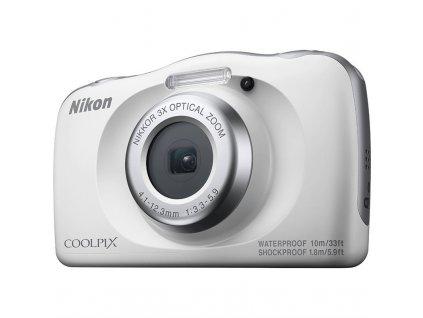 Digitální fotoaparát Nikon Coolpix W150 BACKPACK KIT bílý  Poškozený obal - vystaveno