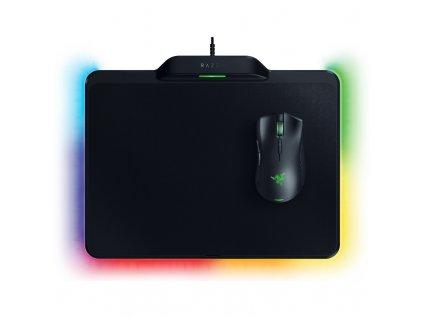 Myš Razer Mamba + Firefly Hyperflux Bundle černá  Vráceno ve 14ti denní lhůtě