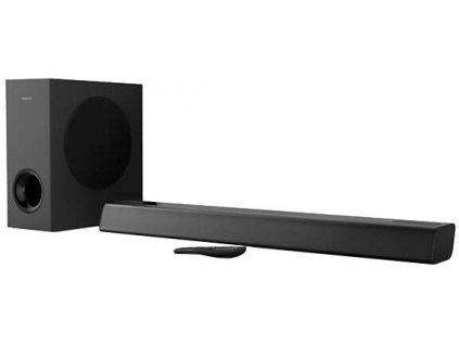 Soundbar Philips TAPB405 černý  Vráceno-oděrky na subwooferu