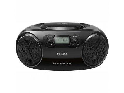 Radiopřijímač s CD Philips AZB500 černý  Vráceno ve 14ti denní lhůtě - kosmetické oděrky