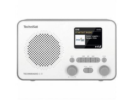 Internetový radiopřijímač Technisat TECHNIRADIO 6 IR bílý  Vráceno ve 14ti denní lhůtě