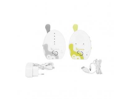 Dětská elektronická chůva Badabulle Baby Online 500 m  Nepoužito - Rozbaleno - Poškozená krabice