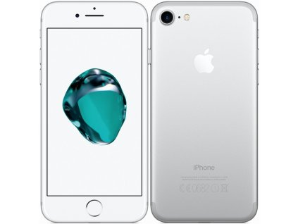 Mobilní telefon Apple iPhone 7 32 GB - Silver  Vráceno ve 14ti denní lhůtě - kosmetické oděrky