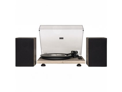 Gramofon Crosley C62 šedý  Vráceno ve 14ti denní lhůtě - kosmetické oděrky