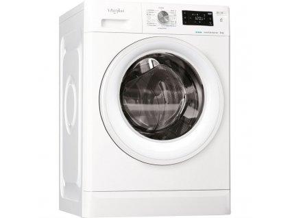 Pračka Whirlpool FreshCare+ FFB 8248 WV EE bílá  nepoužito-levá strana deformace plechu