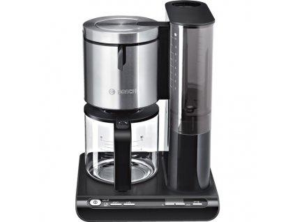 Kávovar Bosch Styline TKA8633 černý/nerez  Nepoužito - Rozbaleno - Poškozená krabice